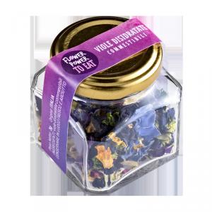 viole edibili disidratate